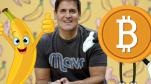 """Từng nhận xét """"thà mua chuối còn hơn mua Bitcoin"""", Shark Mark Cuban giờ đây khen Bitcoin là kho lưu trữ giá trị, đã mua vào và không bao giờ bán ra"""