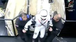 4 phi hành gia trở về trái đất bằng tàu của SpaceX sau sứ mệnh lịch sử